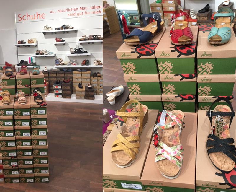Große Auswahl an Schuhen von Think, Brako, Yakano und Woody in den Größen 35 - 43!