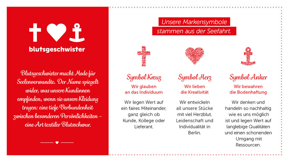 Blutsgeschwister im miranda merra Elbepark Dresden Fair Wear Foundation